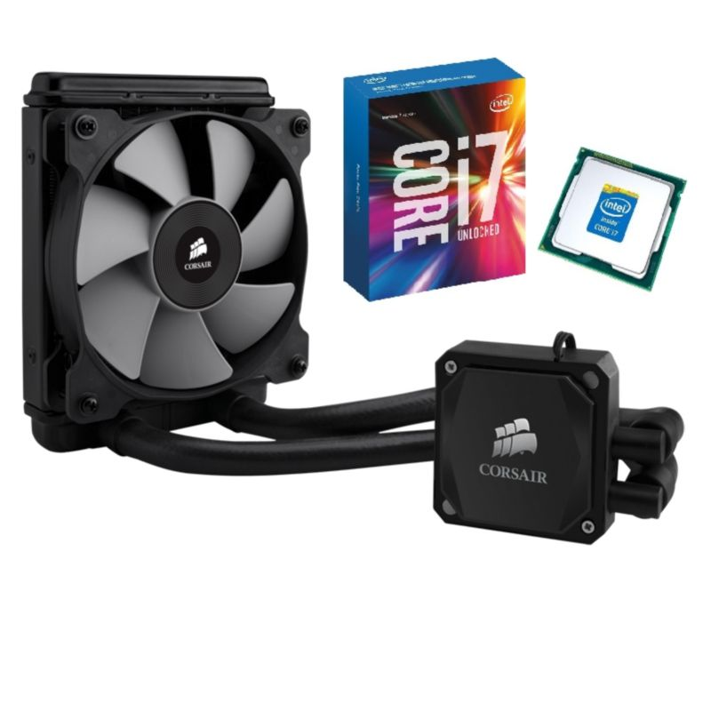 Intel Core i7-6700K & Corsair Hydro Series H60 Wasserkühlung Bundle