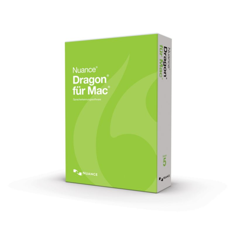 *Nuance Dragon Dictate 4 Mac