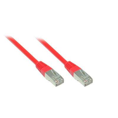 Good Connections  Patch Netzwerkkabel RJ45 SF/UTP CAT5e 30m rot 855R-300 | 4014619610679