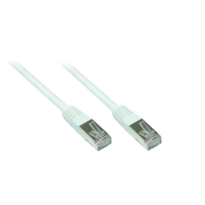 Good Connections  Patch Netzwerkkabel RJ45 SF/UTP CAT5e 15m weiß 855W-150 | 4014619284610