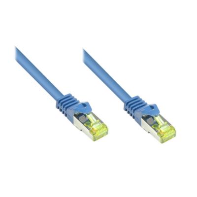 Good Connections  Patchkabel mit Cat. 7 Rohkabel S/FTP 40m blau | 4014619963201