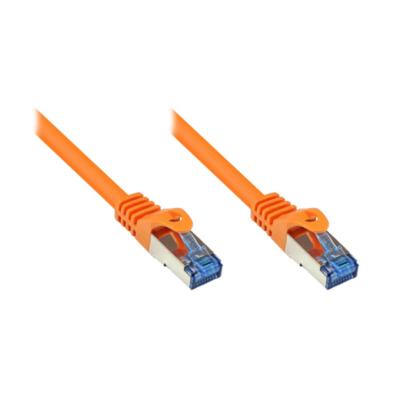 Good Connections  RNS Patchkabel Cat.6A S/FTP PiMF halogenfrei 500MHz 50m orange | 4014619766901