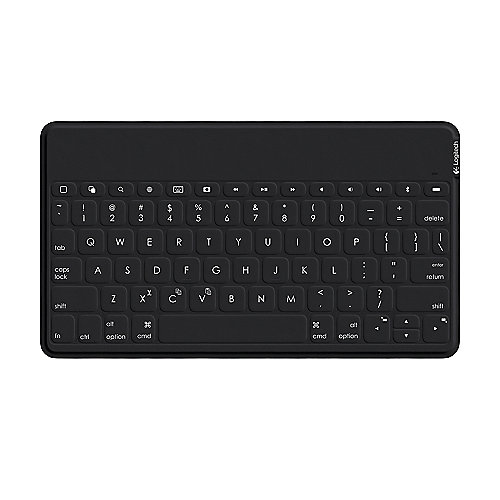 Logitech Keys-To-Go Bluetooth Tastatur schwarz iOS