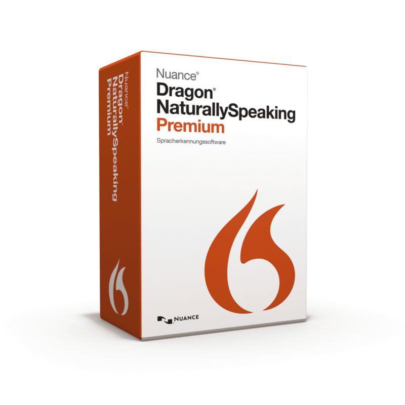 Nuance Dragon NaturallySpeaking Premium 13 Win