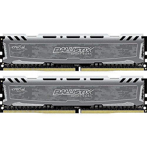 8GB (2x4GB) Ballistix Sport LT DDR4-2400 CL16 (16-16-16) RAM Kit | 0649528771353