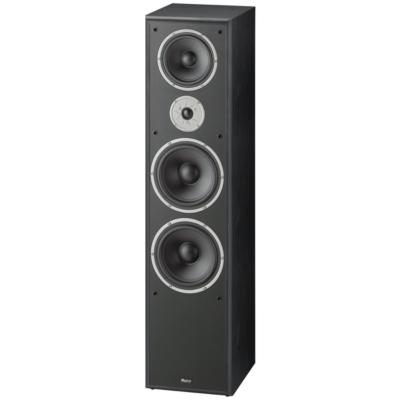 Magnat  Monitor Supreme 2002 3-Wege Bassreflex Standlautsprecher schwarz   4018843482002