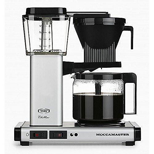 Moccamaster KBG 741 AO Kaffeemaschine Silber | 8712072596252