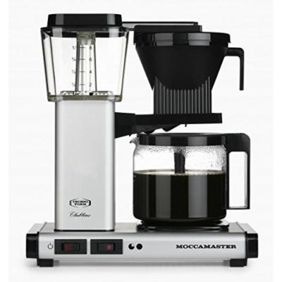Cyberport Moccamaster KBG 741 AO Kaffeemaschine Silber | 8712072596252