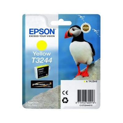 Epson  C13T32444010 Druckerpatrone T3244 Gelb SC-P400 | 8715946600918