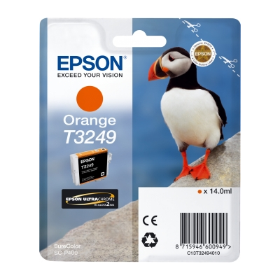 Epson  C13T32494010 Druckerpatrone T3249 Orange SC-P400 | 8715946600949