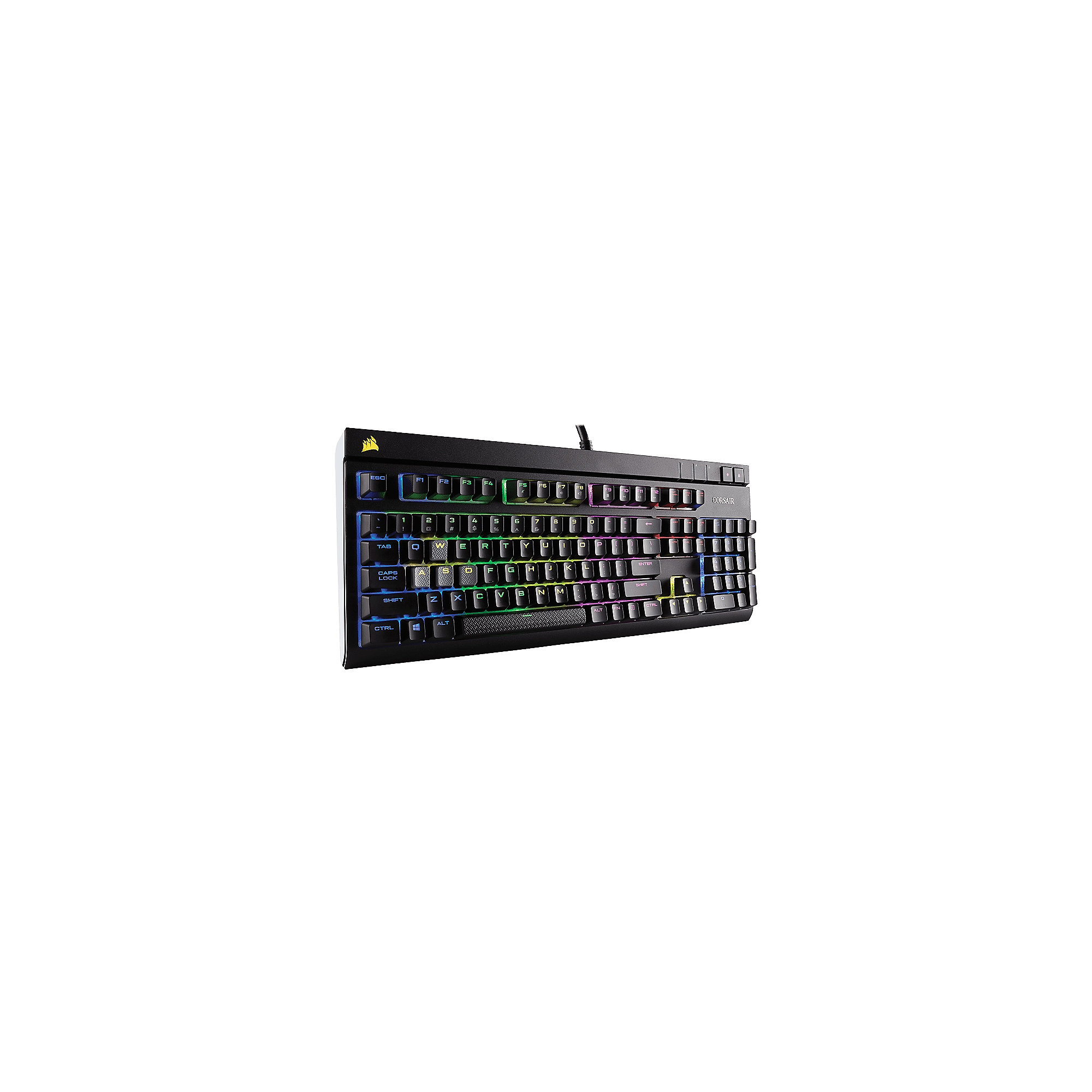 Corsair Gaming STRAFE schwarze Tastatur RGB LED Cherry MX Brown