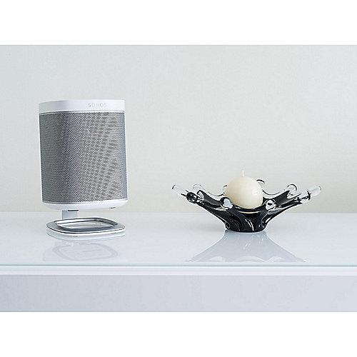 Flexson SONOS PLAY:1 Desk Standfuß – Weiß (Stück) | 0708302560030