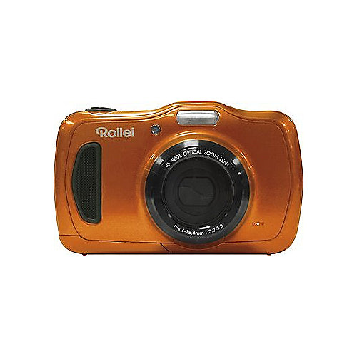 Rollei Sportsline 100 Digitalkamera orange