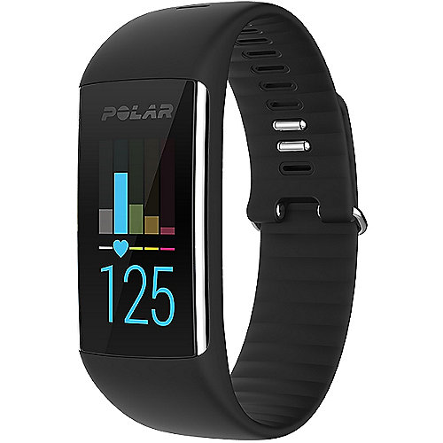 Polar A360 schwar Größe M Fitnesstracker optische Pulsmessung Smart-Notification