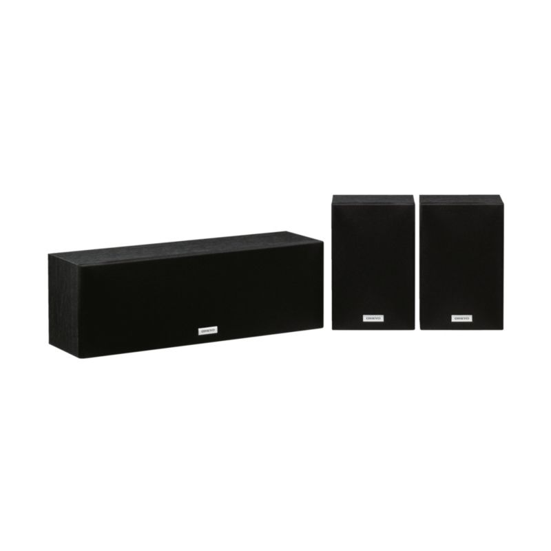Onkyo SKS-4800 Center/Surround Lautsprecherpaket Schwarz