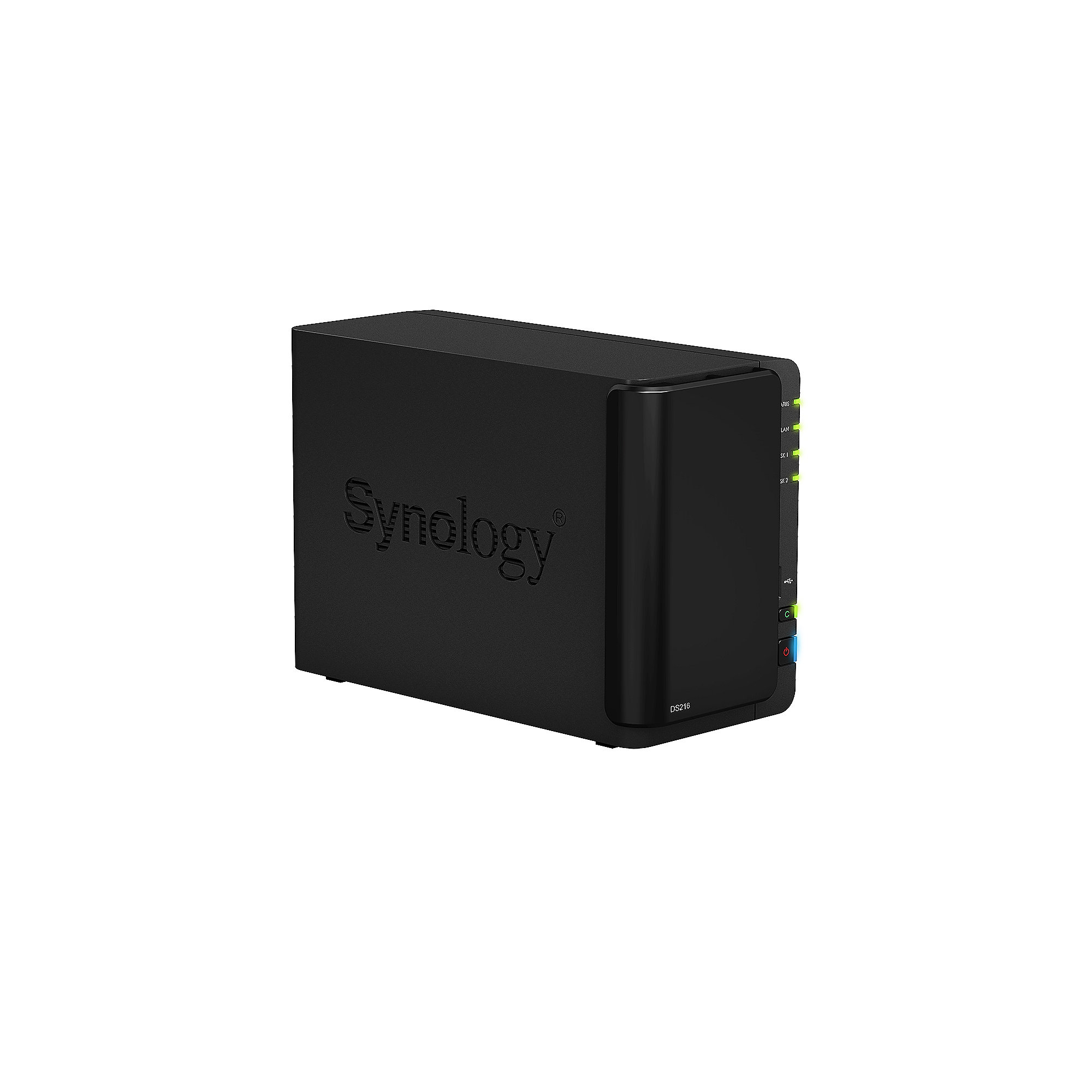 Synology Diskstation DS216 NAS System 2TB inkl. 2x 1TB WD RED WD10EFRX