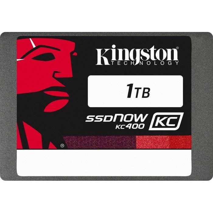 Kingston SSDNow KC400 1TB MLC 2.5zoll SATA600 - 7mm