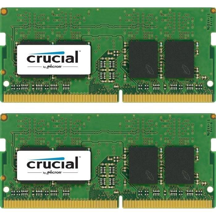 32GB (2x16GB) Crucial DDR4-2133 CL15 SO-DIMM RAM Speicher Kit