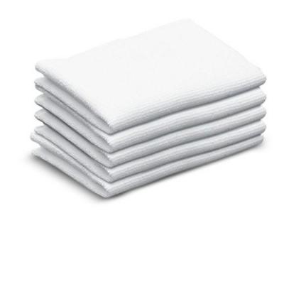 Kärcher  6.369-357.0 Frottee-Tücher, schmal für Dampfreiniger (5er Pack) | 4002667359633