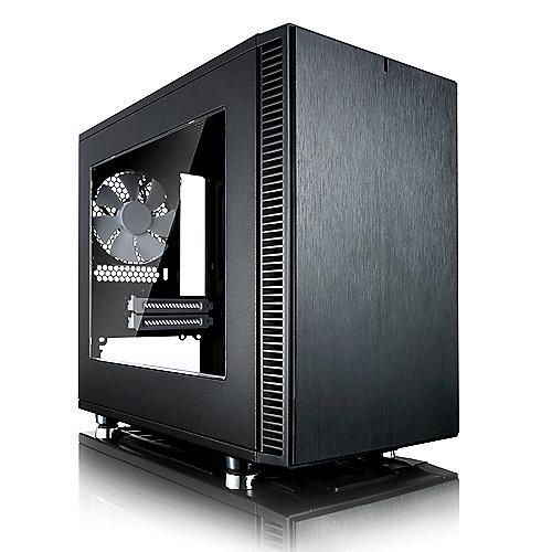 Fractal Design Define Nano S black ITX Gehäuse mit Seitenfenster USB3.0 | 7350041084136
