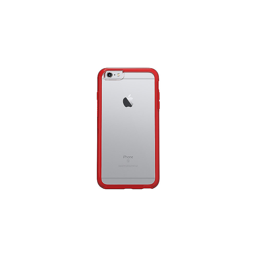OtterBox Symmetry Series Clear für iPhone 6/6s rot