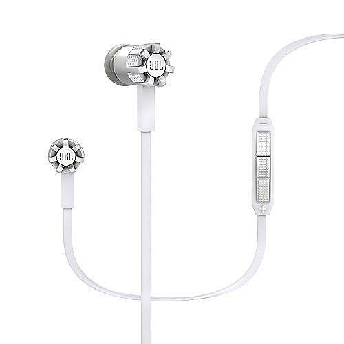 Synchros S200 I White – In Ear-Kopfhörer mit Lautstärkeregler für Apple | 0500363194090