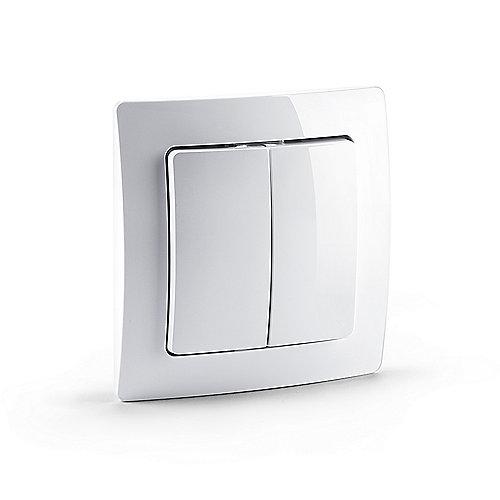 devolo Home Control Funkschalter (Smart Home, Z Wave, Hausautomation, Schalter) | 4250059693593