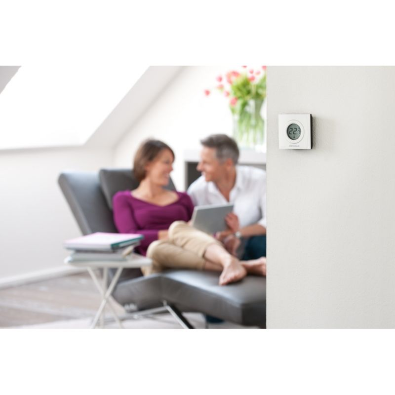 devolo Home Control Raumthermostat (Smart Home, Z Wave, Hausautomation, Sensor)