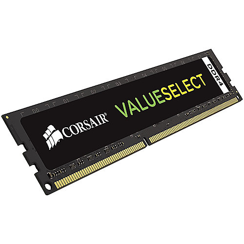 8GB (1x8GB) Corsair Value Select DDR4-2133 RAM CL15 (15-15-15-36) Schwarz