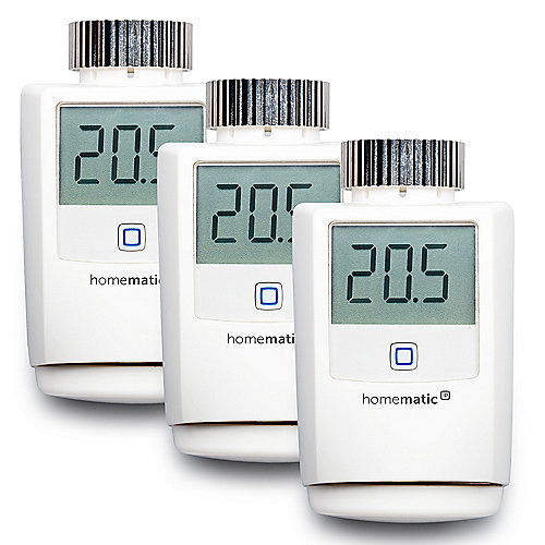 homematic ip 3er set heizk rperthermostat hmip etrv cyberport. Black Bedroom Furniture Sets. Home Design Ideas