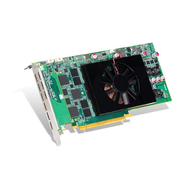 Matrox C900 Grafikkarte 4.096 MB GDDR5 PCIe 3.0x16 9x Mini-DisplayPort