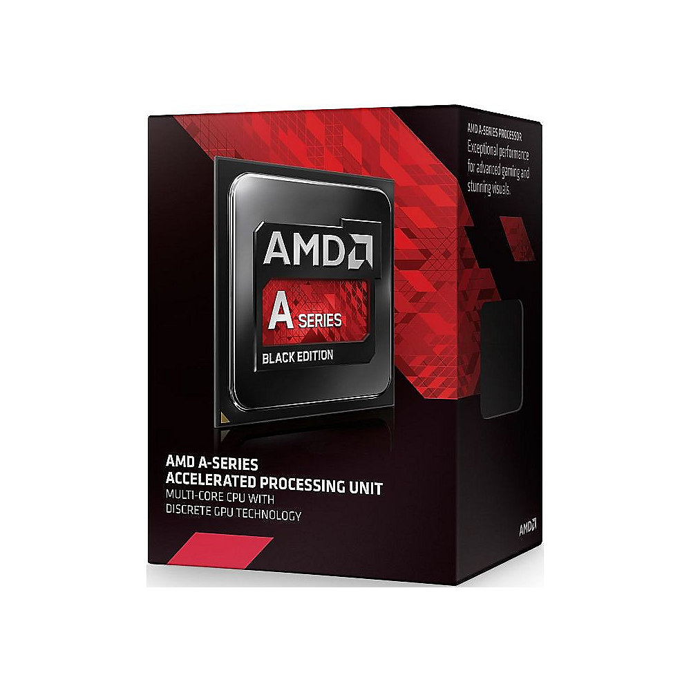 AMD A-Series A10-7850K Black Ed. (4x 3.7GHz) 4MB Radeon R7 SockFM2 (Kaveri) BOX