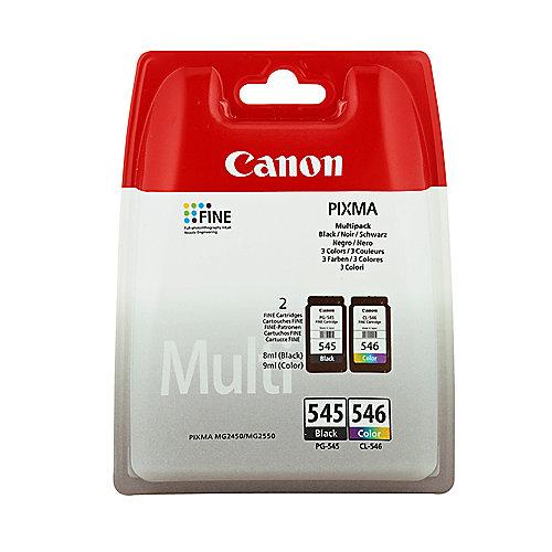 Canon PG-545 / CL-546 Druckerpatronen Multipack 4-farbig (8287B005) | 8714574605517