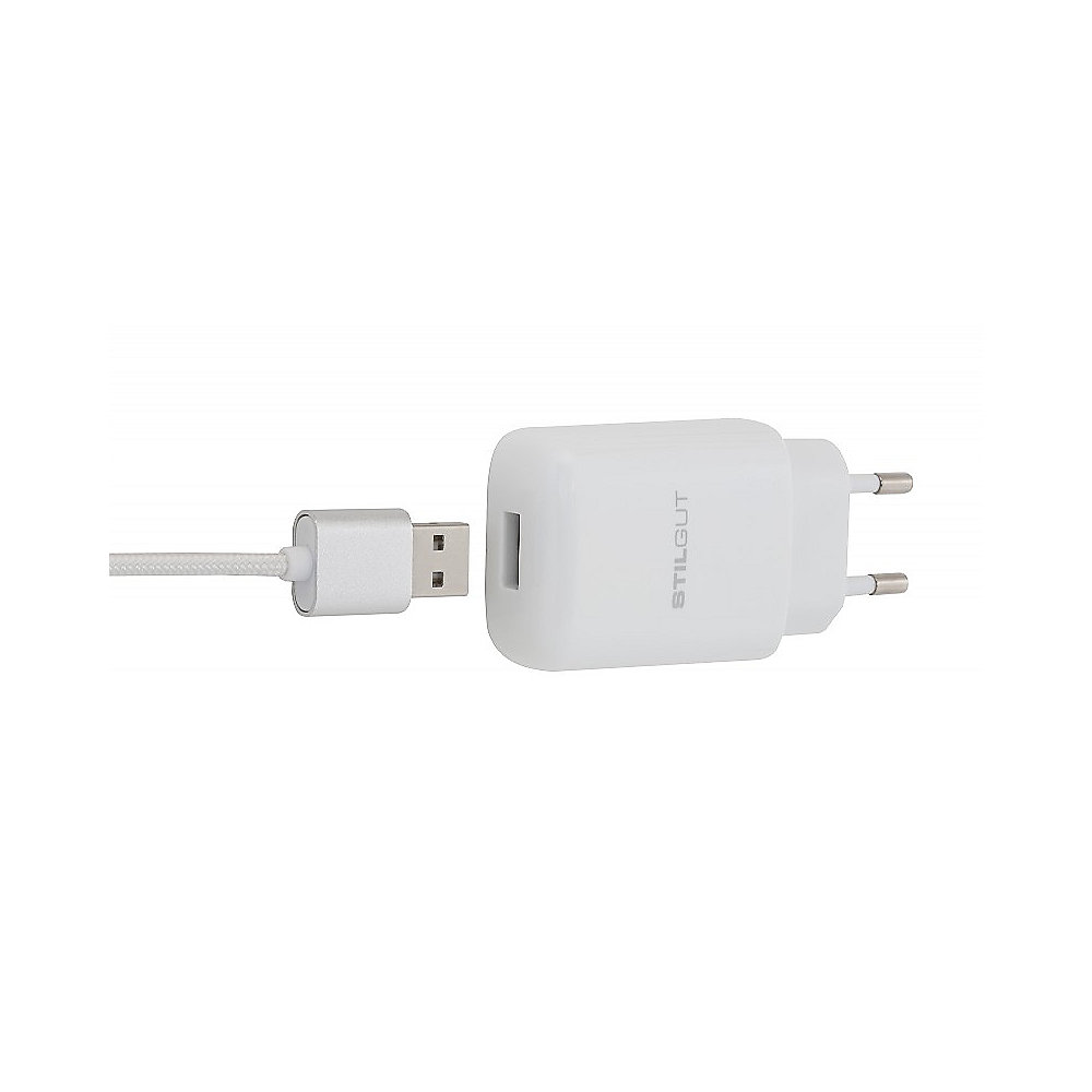 StilGut Quick Charge 2.0 USB Charger weiss