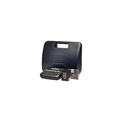P-touch D210VP Beschriftungsgerät Inklusive Hartschalenkoffer Netzteil   4977766757287