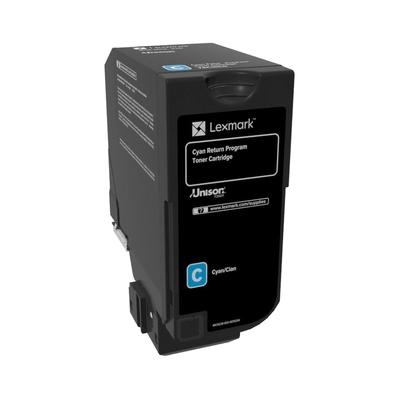 Lexmark  74C20C0 Toner Cyan 3.000 Seiten Return für CX725 CS720 CS725   0734646601344