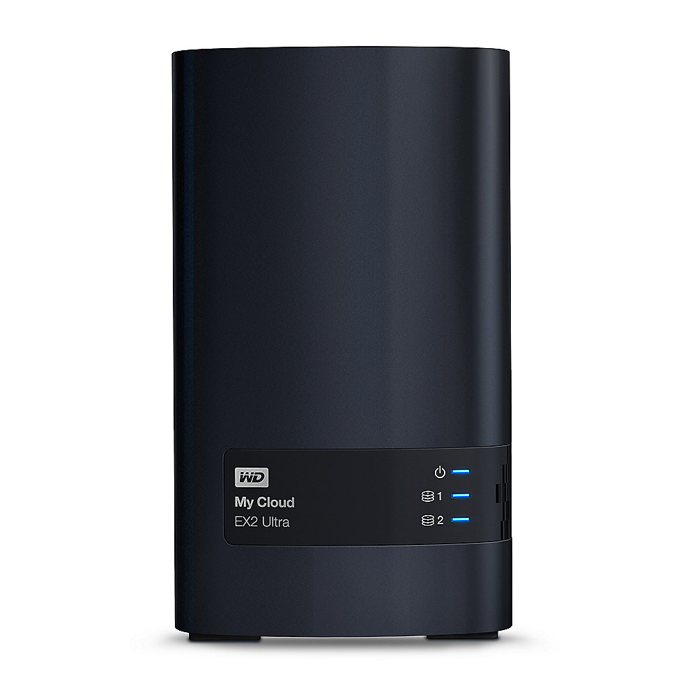 My Cloud EX2 Ultra NAS System 2-Bay 4TB (2x2TB)