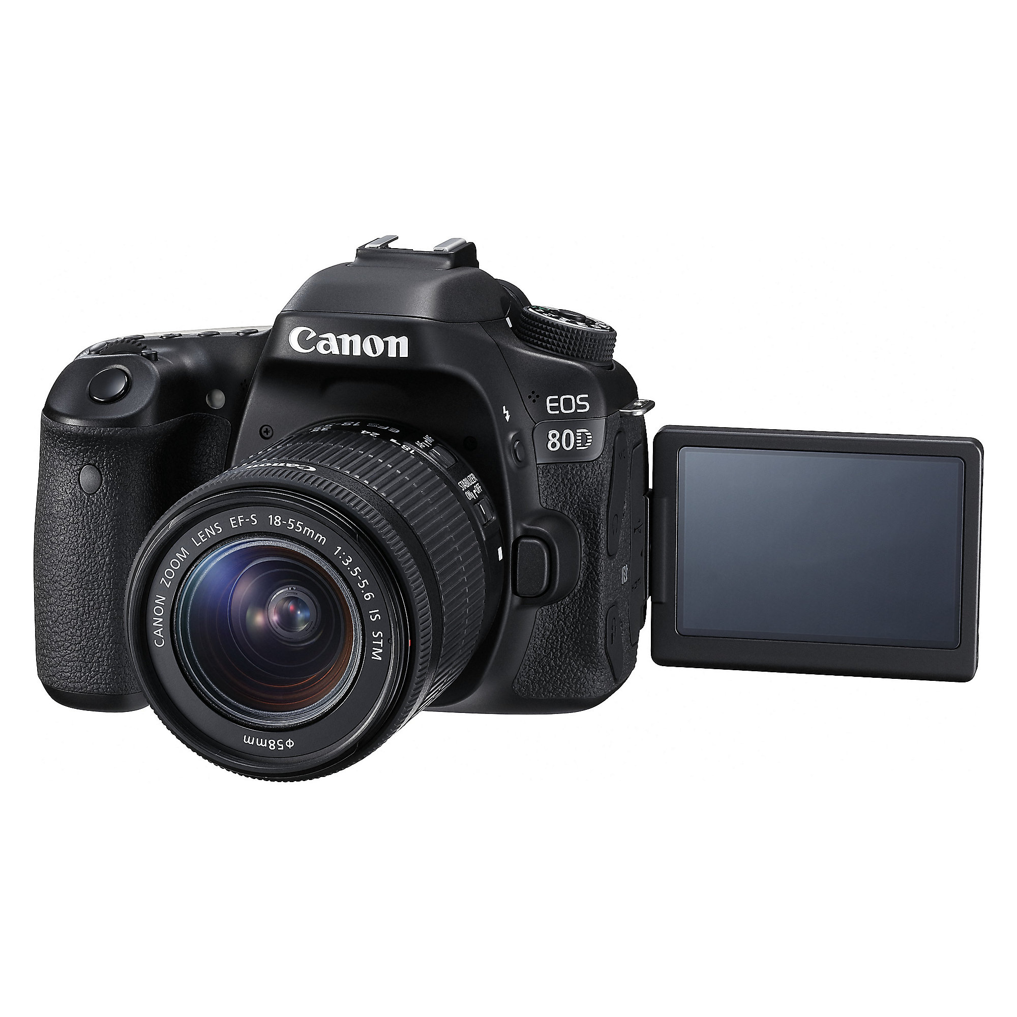 Canon EOS 80D Kit 18-55 IS STM Spiegelreflexkamera