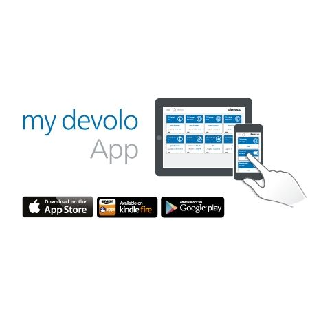 devolo Home Control Schalt- und Messsteckdose (Smart Home, Z Wave, Steckdose)
