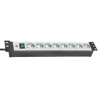 Brennenstuhl  Premium-Line 19 Zoll Steckdosenleiste 8-fach 3,0m 1156057118 | 4007123251599