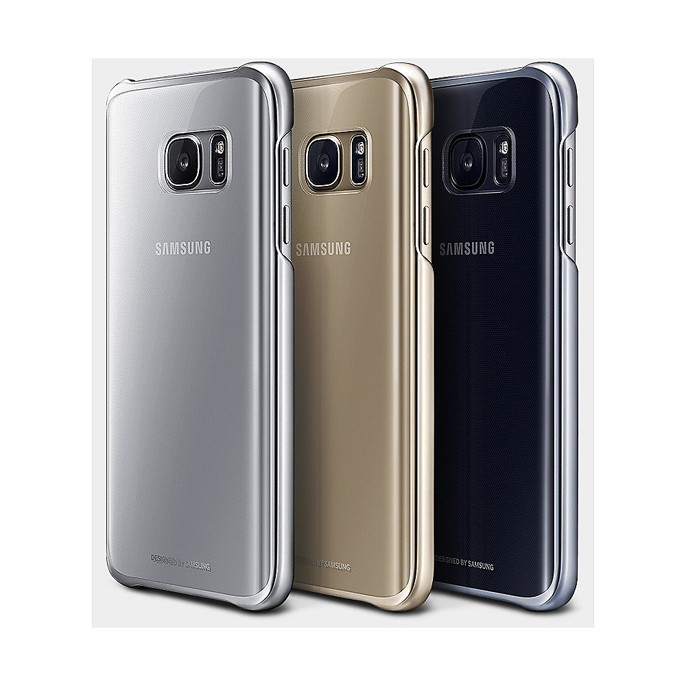 Samsung EF-QG930CF Back Cover für Galaxy S7 gold