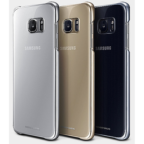 Samsung EF-QG935CF Back Cover für Galaxy S7 edge gold