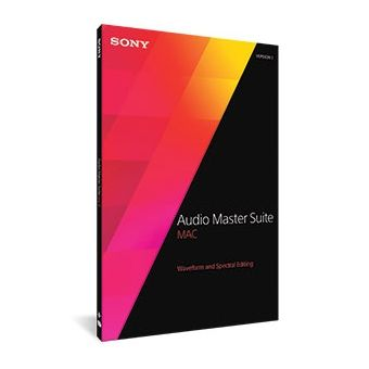 SONY Audio Master Suite Mac 2 + Sound Forge Pro Mac 2 + SpectraLayers Pro 3