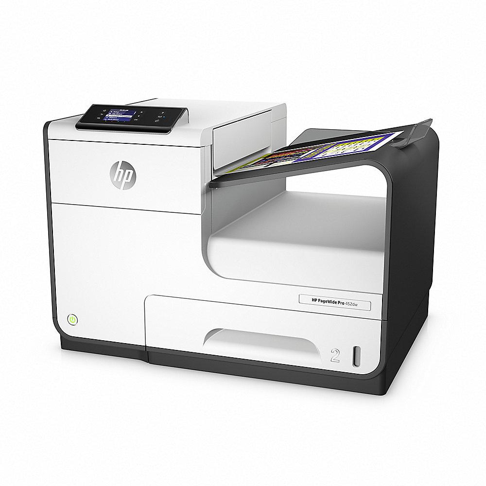HP PageWide Pro 452dw Tintenstrahldrucker LAN WLAN + 3 Jahre ...