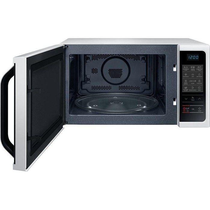 samsung mc28h5013aw eg hei luft mikrowelle 28 liter wei. Black Bedroom Furniture Sets. Home Design Ideas