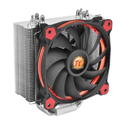 Thermaltake  Riing Silent 12 Red CPU Kühler für AMD und Intel 120mm Lüfter | 4717964404312