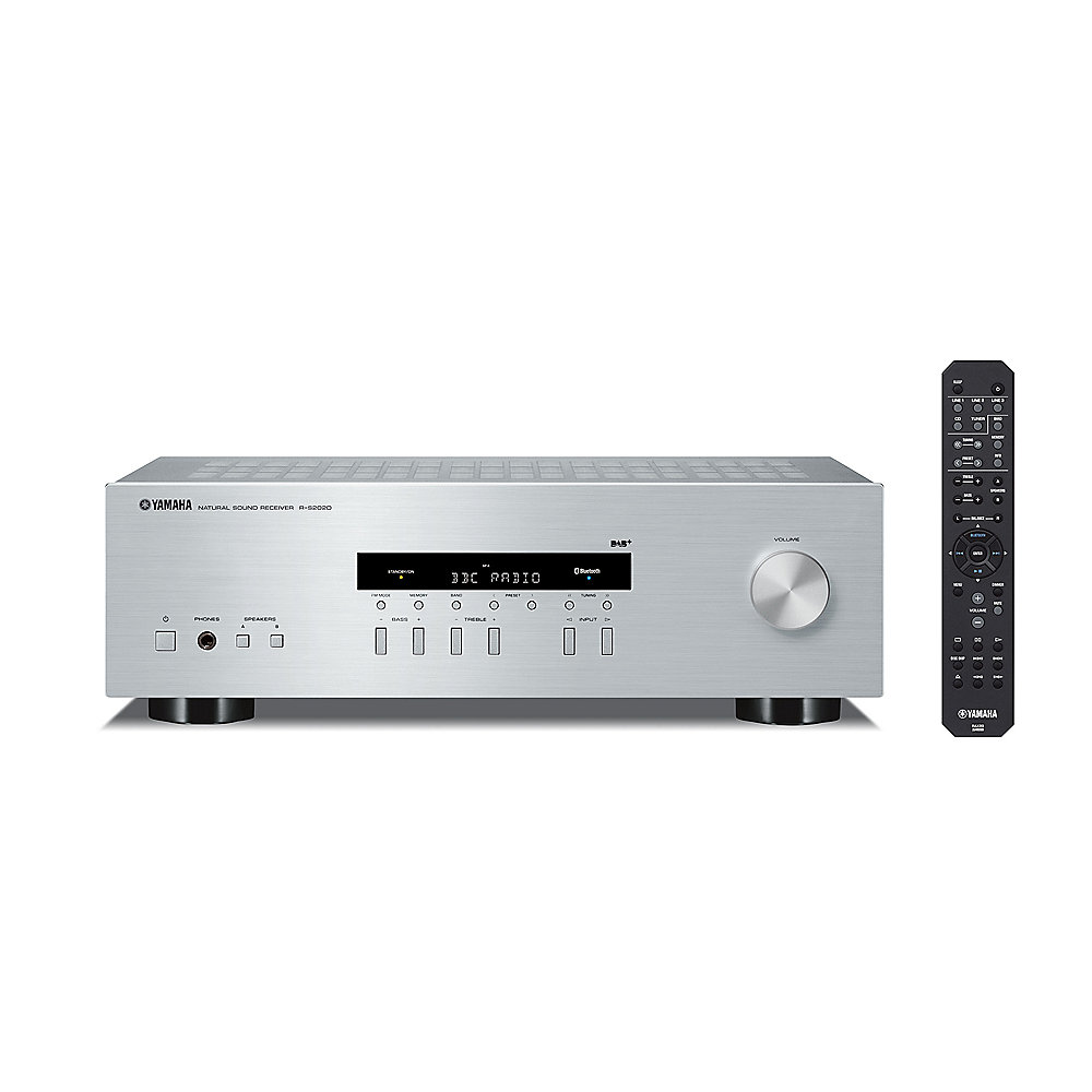yamaha r s202d hi fi receiver mit bluetooth dab dab. Black Bedroom Furniture Sets. Home Design Ideas