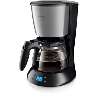 Philips  HD7459/20 Grind and Brew Daily Collection Kaffeemaschine Schwarz | 8710103613244