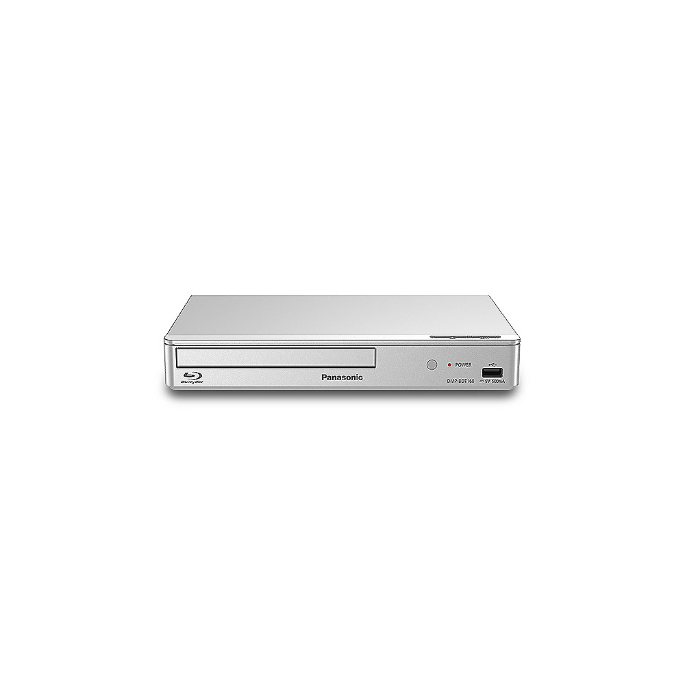 Panasonic DMP-BDT168 Blu-ray Player silber