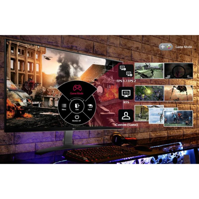 "LG Monitor 27UD68-W, 68,6cm(27"") 16:9 2xHDMI/DP 5ms + Tom Clancy's The Division"